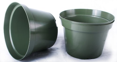 20 NEW 6 Inch Azalea Plastic Nursery Pots ~ Pots ARE 6 Inch Round At the Top and 4.25 Inch Deep. (6 Plastic Pot compare prices)