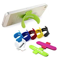 Combo of 3 Touch-U One Touch Silicone Stand Suitable For All Mobiles ( Mix colours)