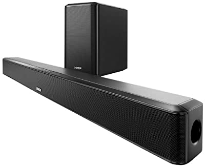 Denon DHT-S514 Home Theater Soundbar System with HDMI, Bluetooth Streaming and Wireless Subwoofer by Denon