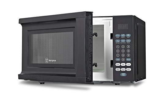 Westinghouse WCM770B 700 Watt Counter Top Microwave Oven, 0.7 Cubic Feet, Black Cabinet (Small Microwave Ovens Countertop compare prices)