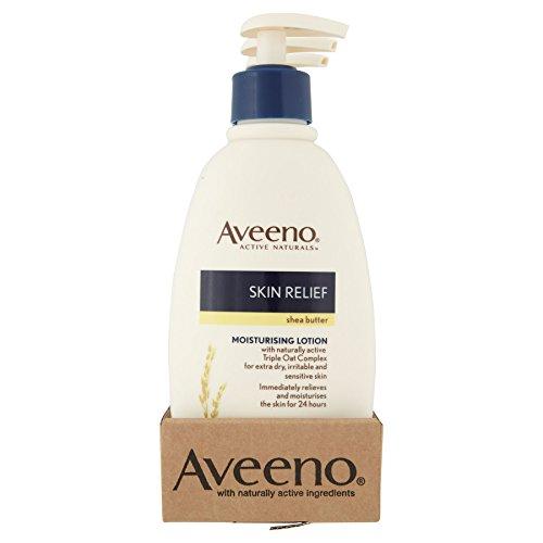 6-x-aveeno-skin-relief-moisturising-lotion-au-beurre-de-karite-300-ml