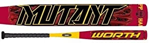 2015 Worth Mutant Jeff Hall 34 25.5 Sig. Series 2-Piece ASA ONLY Slow Pitch Bat... by Worth