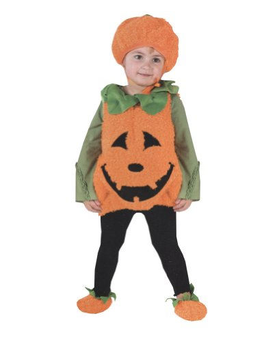 Pumpkin Cutie Pie Vest Toddler Halloween Costume-Funworld