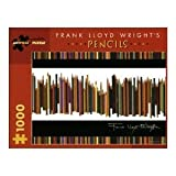 Pomegranate Frank Lloyd Wright's Pencils 1000 Piece Jigsaw Puzzle