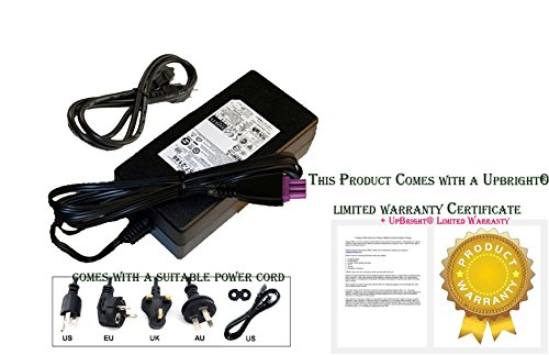 HP OfficeJet J4580 Power Supply Adapter Cord *** (Hp All In One Computer Power Cord compare prices)