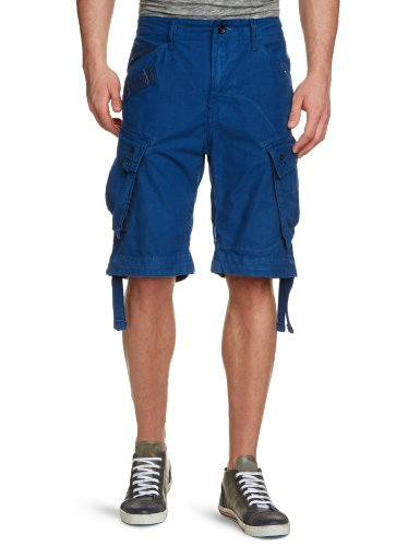 G-Star Raw RCO Rovic Loose 1/2 Men's Shorts Pacific W30 INxL32 IN - 21.131.81152A.4913.1862.0.30