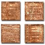 Mosaic Mercantile 24 Tile, Metallic Copper