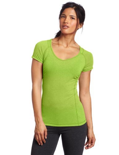 Calvin Klein Performance Women's Shirred V-Neck Workout Tee