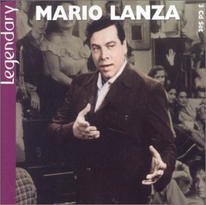 Legendary Mario Lanza by Nicholas Brodszky, Sigmund Romberg, Giuseppe Verdi, Irish Traditional and Agustin Lara