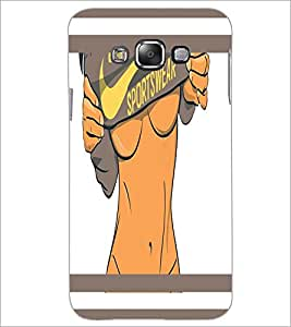 PrintDhaba Sexy Fitness D-1273 Back Case Cover for SAMSUNG GALAXY E7 (Multi-Coloured)