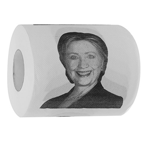 papier toilette trump rouleau de papier humour blague fun hillary clinton. Black Bedroom Furniture Sets. Home Design Ideas