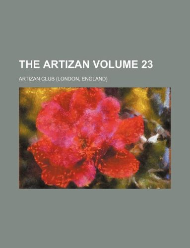 The Artizan Volume 23