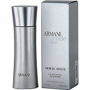 Amazon.com : Giorgio Armani Code Ice Eau De Toilette Spray, 2.5 Ounce