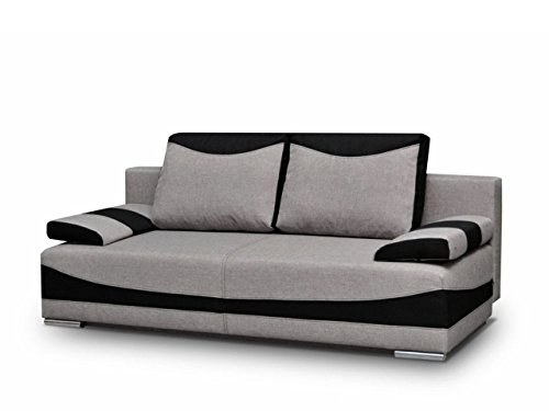 hikenn schlafsofa dallas sofa schlaffunktion bettkasten couchgarnitur sofagarnitur savana 21. Black Bedroom Furniture Sets. Home Design Ideas
