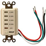 Woods 59720 Automatic Wall Switch Timer, 30-Minute, Light Almond