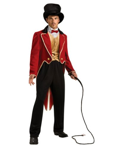 Circus Ring Master Adult Costume Std Adult Mens Costume