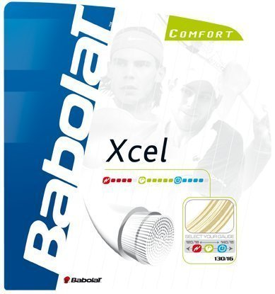Xcel 16g Tennis String Natural