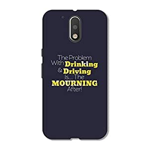 OVERSHADOW DESIGNER PRINTED BACK CASE COVER FOR MOTO G4 PLUS ( 4 th GENERATION )