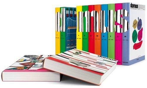 Domus 1928-1999. Vols. 1-12