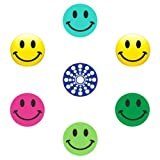 miButton AHB00123 miButton Home Button Sticker for iPod, iPhone, & iPad - Happy Faces