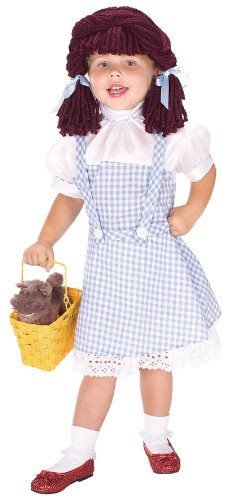 Rubie's Costume Wizard of Oz Dorothy Costume, Toddler