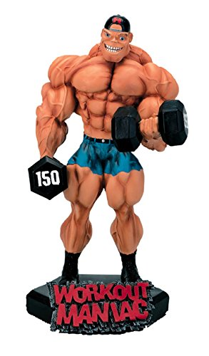 New-Workout-Maniac-Xtreme-Figurine-Bodybuilding-Weightlifting-Collectible-Statue