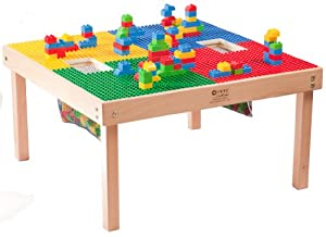 """DUPLO® Compatible Heavy Duty Wood Table-32""""x32""""-MADE IN USA!!-PREASSEMBLED-Solid Hardwood Legs and Frame-BUILT TO LAST!!"""