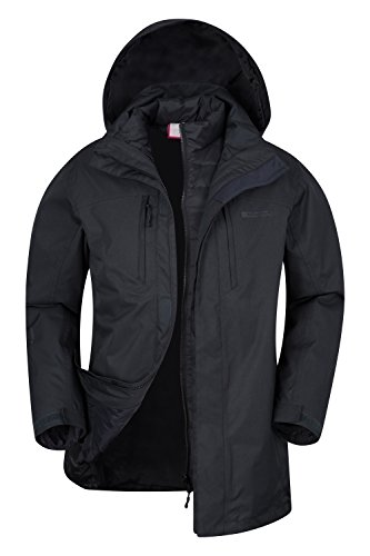 Mountain Warehouse Rafter 3 in 1 Mens Down Jacket