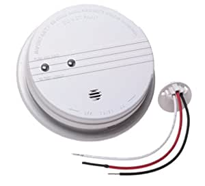 Kidde 1275 120 Volt9 Volt BatteryElectric Smoke Alarm