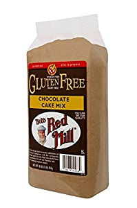 Bob's Red Mill Gluten-Free Chocolate Cake Mix, 16-Ounce Packages (Pack of 4)