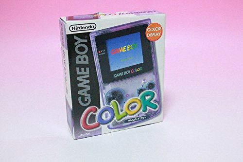 Game Boy Color (clear purple) end product manufacturers]...