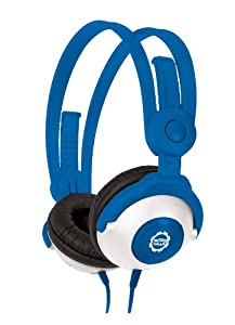 Kidz Gear Wired Headphones For Kids – Blue