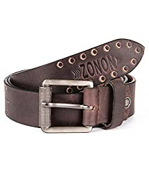 Zonon hand made leather belt for men, Zonon0A3