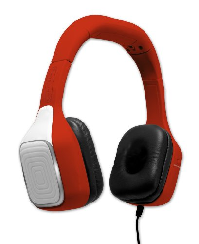 First Act FI605 JamTech Lightbeats Headphones - Red - 1