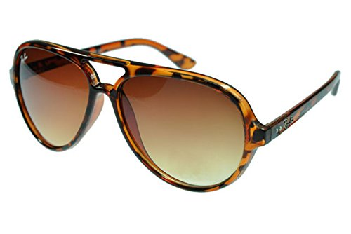 [Aviator Sunglasses Cats RB4125 Sunglasses Leopard Grain Frame Tawny Lens AFA] (Iconic Women In History Costumes)