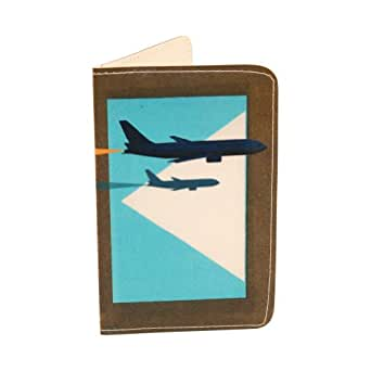 Airplane jet business credit id card holder amazonco for Airplane business card holder