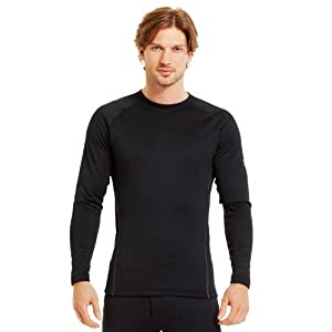 Under Armour Men's UA Base™ 3.0 Crew Medium Black