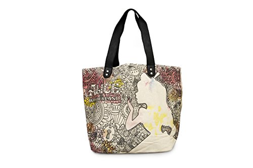 Loungefly Alice in Wonderland Watercolor Sketch Tote Bag Purse