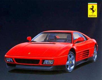 Hasegawa Ferrari 348 Tb Model Kit front-1066965