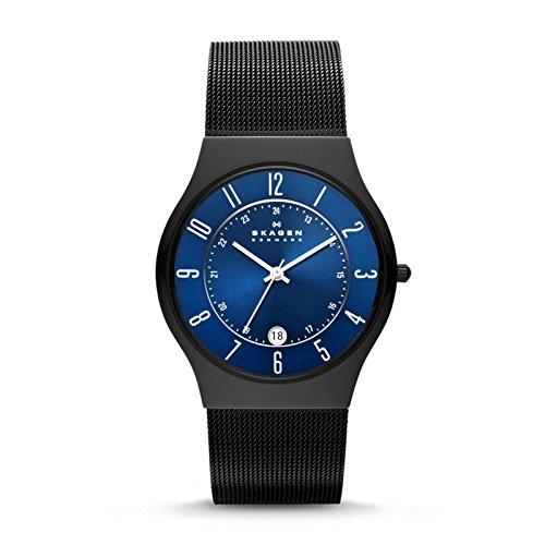 Skagen - T233XLTMN - Montre Homme - Bracelet acier noir