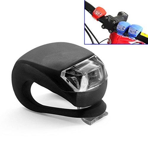 Grenhaven MINI LED Silikonleuchte Schwarz Mobile LED-Lampe Silikongehäuse Fahrrad Camping Wanderung Joggen