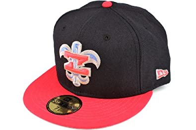 New Era 5950 Custom New Orleans Zephyr Fitted Cap by New Era