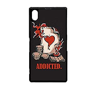 Vibhar printed case back cover for Sony Xperia Z3 CasinoGameCard