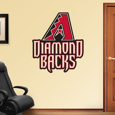 (38X45) Arizona Diamondbacks Logo Fathead Wall Decal