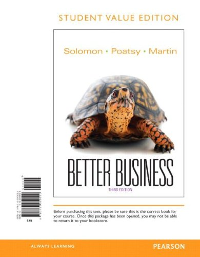 Better Business, Student Value Edition (3rd Edition)