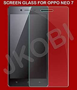 Jkobi Exclusive Quality Explosion Proof Tempered Glass For Oppo Neo 7 (2.5 D Curved Edges)