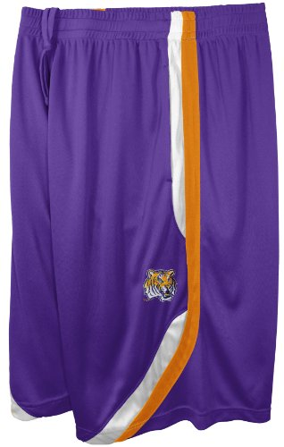 NCAA LSU Tigers Men's Clean The Glass Hoop Short, Purple, X-Large at Amazon.com