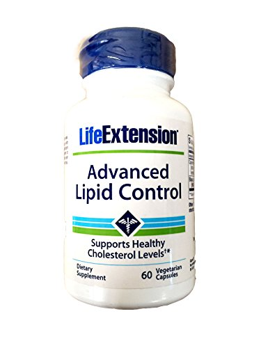 Life Extension Advanced Lipid Control, Veg Tablets, 60-Count (Pituitary Caps compare prices)