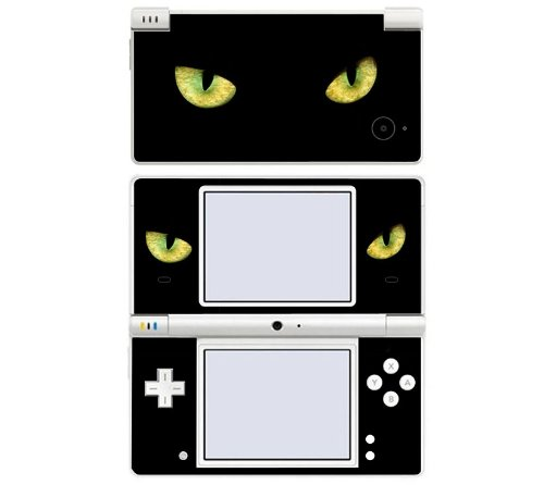 Cat Eyes Decorative Protector Skin Decal Sticker for Nintendo DSi