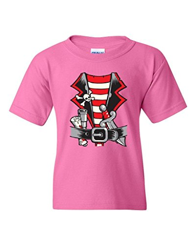 [Artix Pirate Costume for Kids Fashion People Best Friend Gifts Halloween Birthday Party Costume Unisex Youth Kids T-Shirt Tee Clothing Youth Large Azalea] (Cave People Costume)